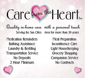 Care From the Heart Service info